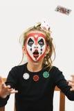 покер девушки Стоковая Фотография RF