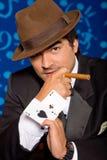 покер игрока Стоковое фото RF