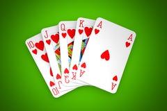 покер игры стоковые фото