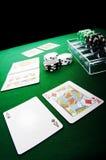покер игры Стоковые Изображения