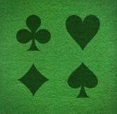покер ковра Стоковые Изображения