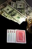 покер ночи Стоковые Фото
