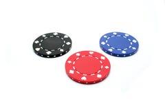 покер обломока Стоковое Изображение