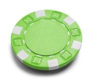 покер обломока зеленый Стоковое Фото