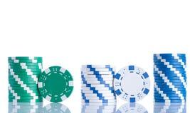 Покер обломоков Стоковое фото RF