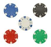покер обломоков 5 Стоковая Фотография RF