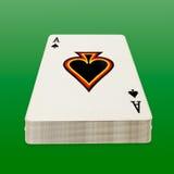 покер пакета перфокарт Стоковые Фото