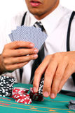 покер парня Стоковые Фото