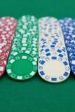 покер серий обломоков Стоковое Фото