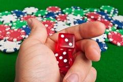 покер удачи Стоковая Фотография