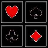 покер 11 иллюстрация вектора