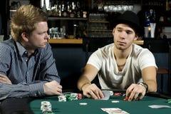 покер 2 игроков Стоковое фото RF