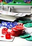 Покер Стоковая Фотография