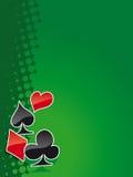 покер 5 bg Стоковые Изображения
