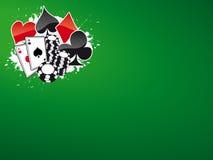 покер 5 bg Стоковое Изображение RF