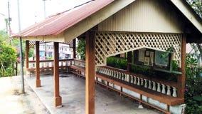 Покинутая автобусная станция Стоковое фото RF