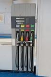 покинутая бензоколонка Стоковое фото RF