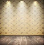 Покинутая бледная комната Стоковые Изображения RF