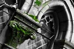 покинутая деталь церков стоковая фотография rf