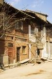 покинутая дом города фарфора Стоковое фото RF