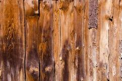 покинутая дом доск сделала старые сельские стены Стоковая Фотография