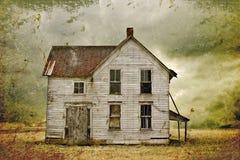 покинутая дом иллюстрация штока