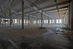 покинутая зала Стоковая Фотография