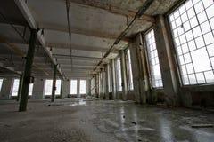 покинутая зала Стоковое Изображение RF