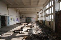 покинутая зала Стоковая Фотография RF