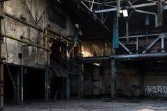 покинутая индустрия Стоковое Изображение