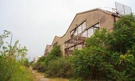 Покинутая индустрия Стоковая Фотография RF