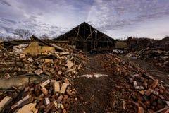 Покинутая индустрия - Shanango Китай Компания - новый замок, Пенсильвания Стоковая Фотография