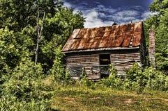 покинутая домашняя старая Стоковое Фото