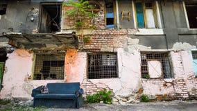 покинутая дом старая Стоковая Фотография