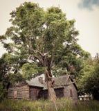 покинутая дом Стоковая Фотография