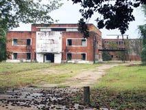 Покинутая психиатрическая больница положения Стоковое Изображение RF