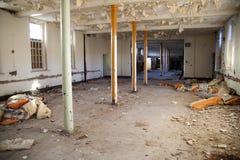 покинутая пустая комната стационара Стоковые Фотографии RF