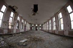 покинутая пустая комната стационара Стоковые Изображения