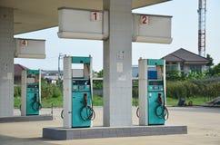 Покинутая станция газового насоса Стоковые Фотографии RF