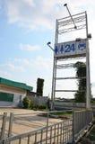 Покинутая станция газового насоса Стоковое Изображение RF