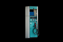 Покинутая станция газового насоса Стоковое Фото