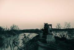 покинутая старая Стоковая Фотография
