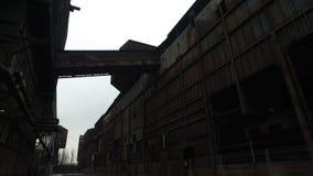 Покинутая стальная фабрика акции видеоматериалы