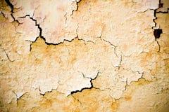 покинутая стена текстуры Стоковое Фото