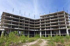 Покинутая строительная площадка Стоковые Изображения RF