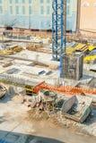 Покинутая строительная площадка Стоковое Изображение RF