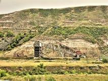 Покинутая угольная шахта атласа Стоковое Изображение RF