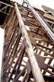 Покинутая фабрика в промышленном Стоковая Фотография