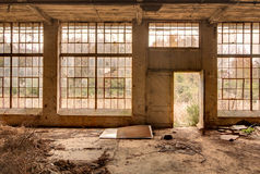 покинутая фабрика старая Стоковое Изображение RF
