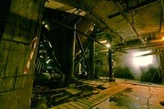 покинутая фабрика старая Стоковое фото RF